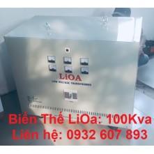 BIẾN THẾ LIOA 100KVA - 3PHA 380V - 220V/200V