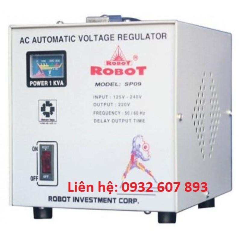 Ổn Áp ROBOT 1Kva/220V - Dùng Cho Tủ Lạnh, Máy Tính, Văn Phòng.