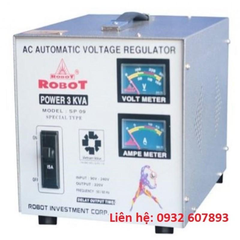 Ổn Áp ROBOT 3Kva-220V-SP09 - Dùng Cho Gia Đì...