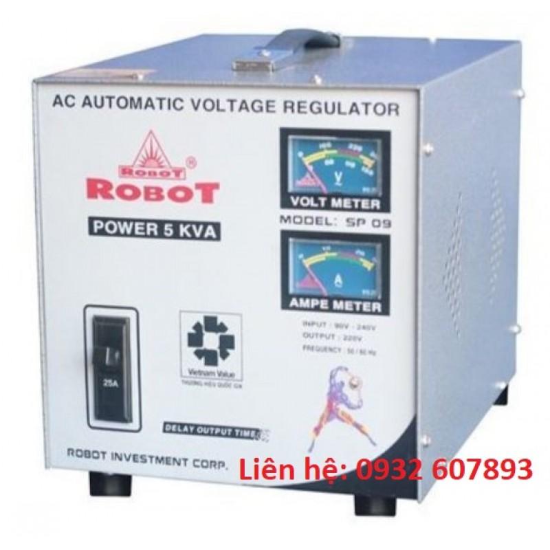 Ổn Áp ROBOT 5Kva-220V-SP09 - Dùng Cho Gia Đì...