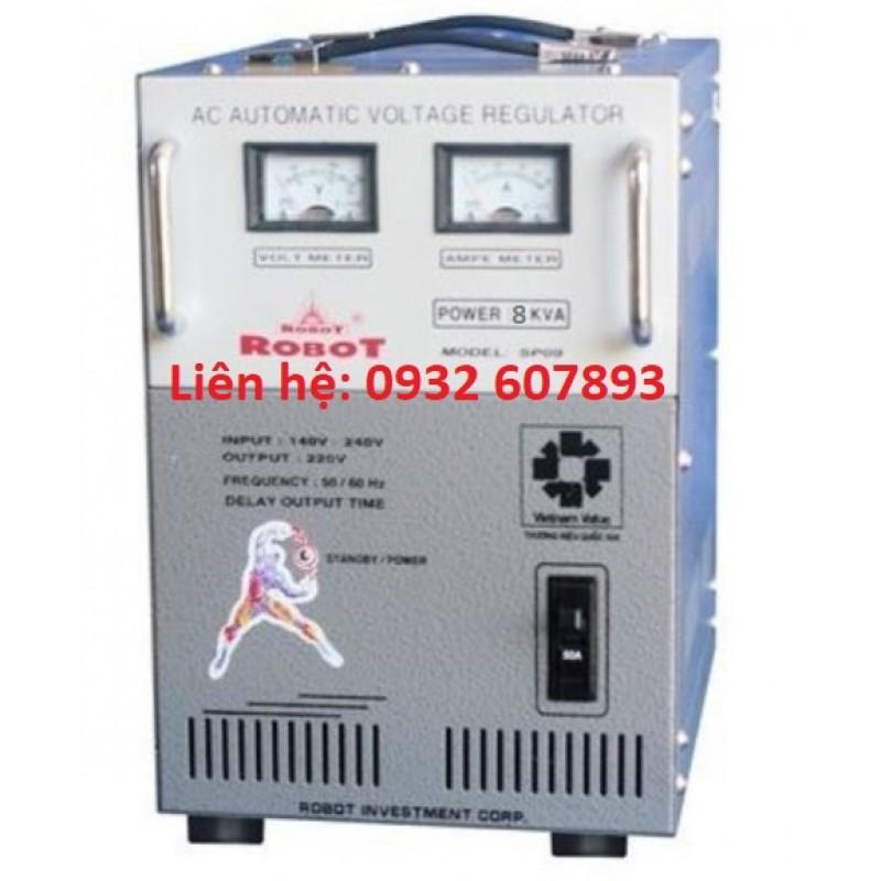 Ổn Áp ROBOT 8Kva-220V - Sử Dụng Gia Đình, Văn Phòng