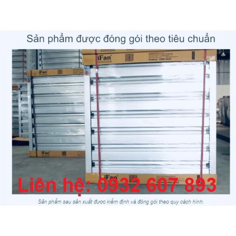 Quạt Hút Công Nghiệp Vuông 500 - IFan Cánh Inox