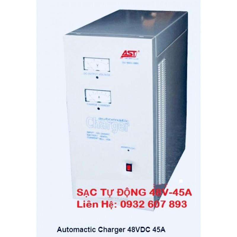 SẠC TỰ ĐỘNG AST 45A-48VDC