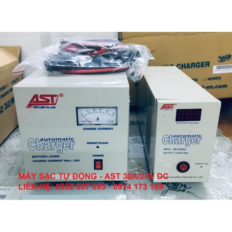 SẠC TỰ ĐỘNG AST 30A - 12V/24V DC