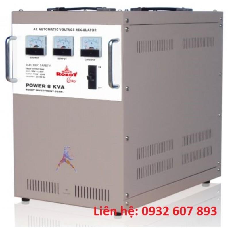 ỔN ÁP ROBOT - 8Kva Dây Đồng - CLASSY SERIES